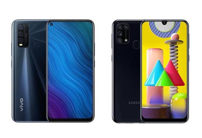 Vivo Y50 vs Galaxy M31