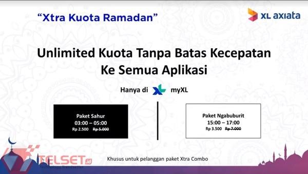 Xtra Kuota Ramadan XL Axiata