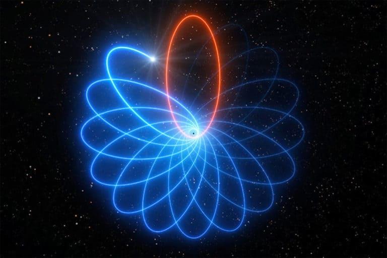 Bintang Menari di Sekitar Lubang Hitam Benarkan Teori Einstein