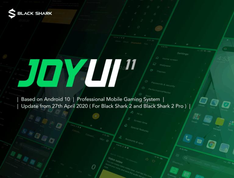 Mengenal JoyUI 11, Sistem Operasi Terbaru dari Black Shark