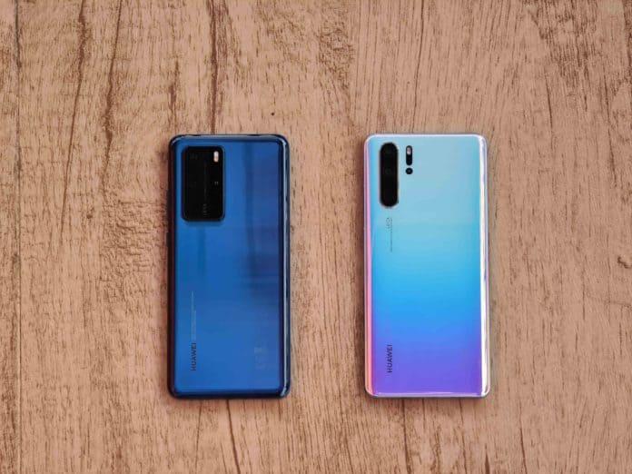 Huawei P40 Pro vs P30 Pro