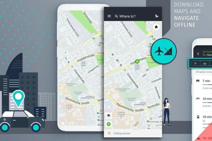 Here WeGo App Gallery