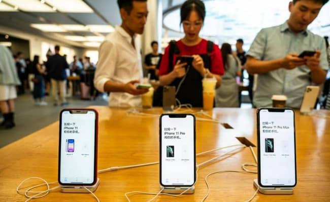 diskon iPhone 11 di China