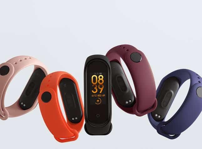 Xiaomi Mi Band 4 smartwatch terbaik