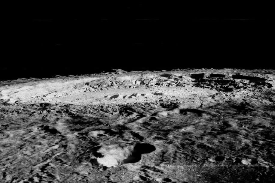 sumber air di Bulan