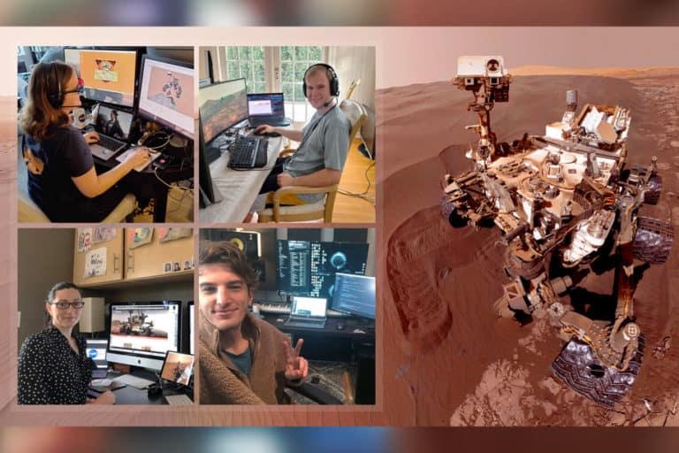 WFH, Staf NASA Tetap Kirim Perintah ke Penjelajah Curiosity di Mars