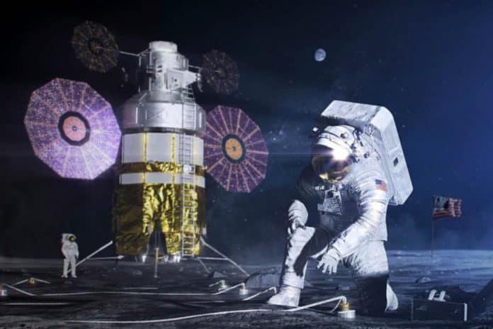 Pangkalan NASA di Bulan
