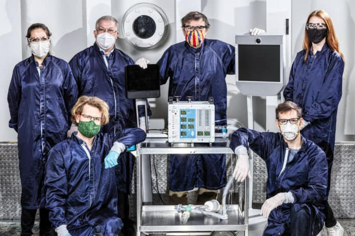 ventilator Covid-19 NASA