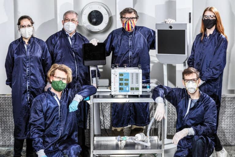 NASA Butuh 37 Hari Garap Ventilator Covid-19 Tekanan Tinggi