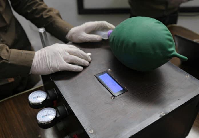 Ventilator Covid-19 Suriah