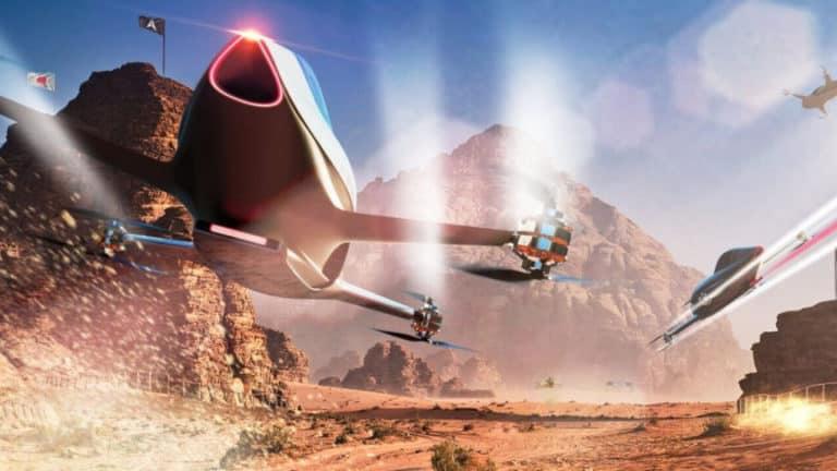 Balapan Mobil Listrik Terbang Segera Jadi Kenyataan