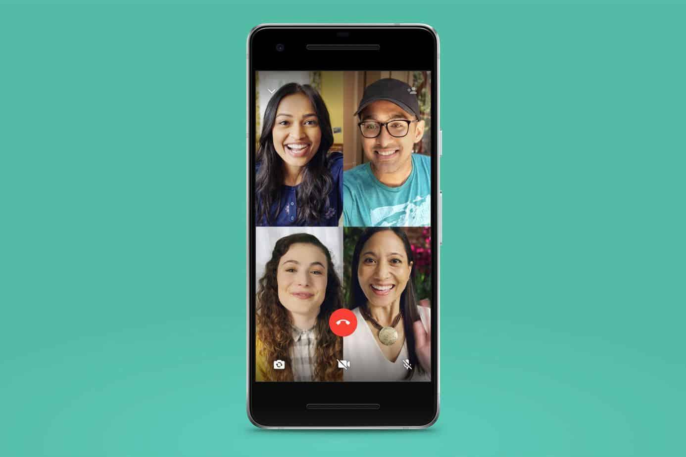 Video Group Call WhatsApp