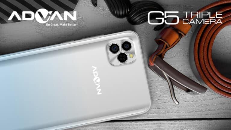 Advan G5: Penerus Advan G3 Pro dengan Baterai Jumbo