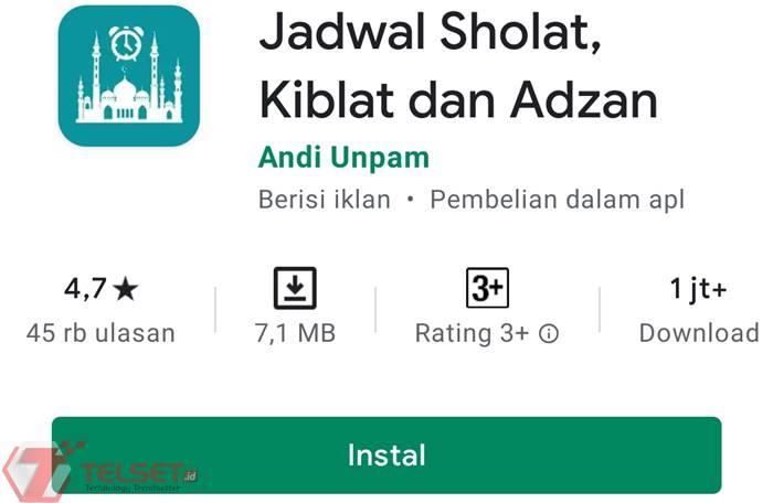 Aplikasi Adzan