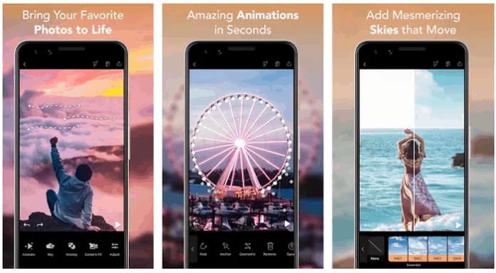 aplikasi foto bergerak Android