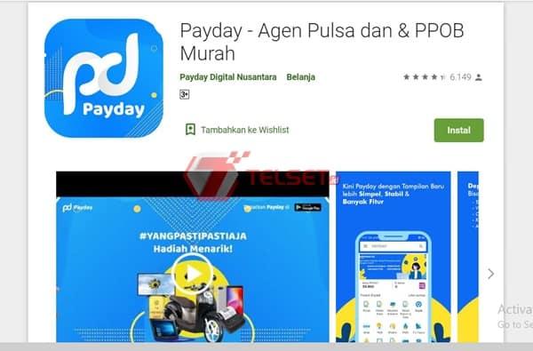 Aplikasi Jual Pulsa online PayDay
