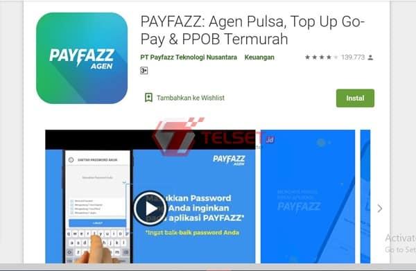 Aplikasi Jual Pulsa PayFazz