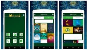 ide ucapan lebaran dengan gadget - Aplikasi kartu undangan