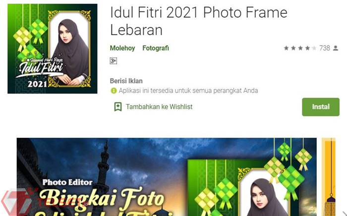 Aplikasi Kartu Ucapan Idul Fitri
