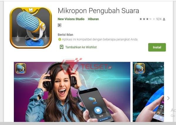 Aplikasi Pengubah Suar