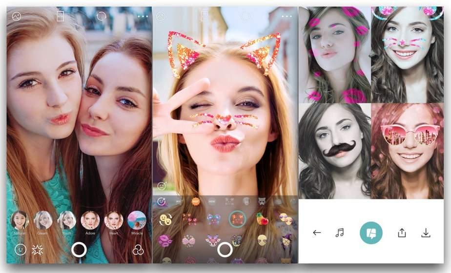 Aplikasi kamera Selfie