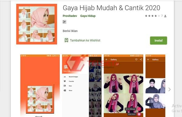 Aplikasi Tutorial Hijab 2020