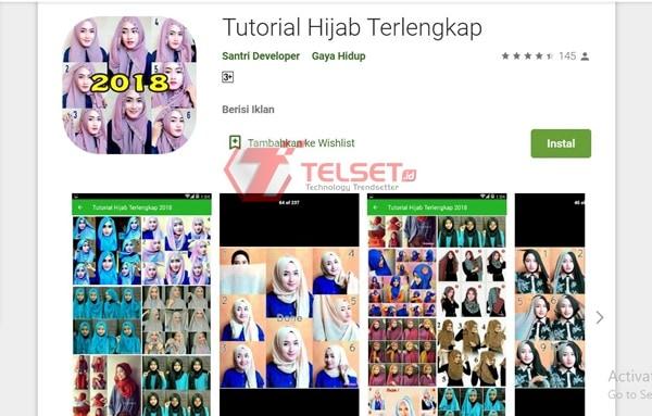 Tutorial Hijab Terlengkap