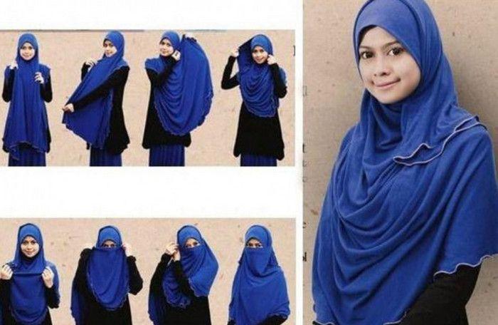 Tutorial Hijab Syar'i