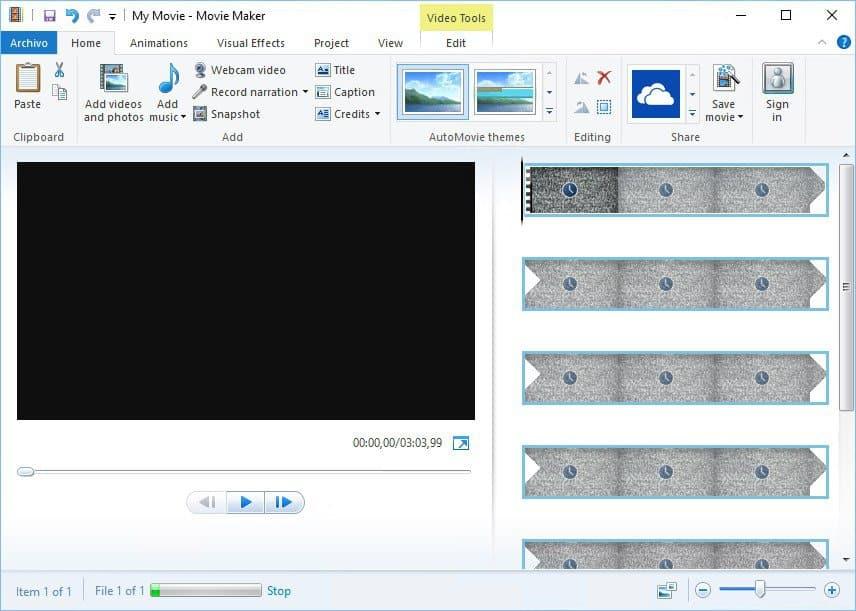 aplikasi edit video pc Windows Movie Maker / Video Editor