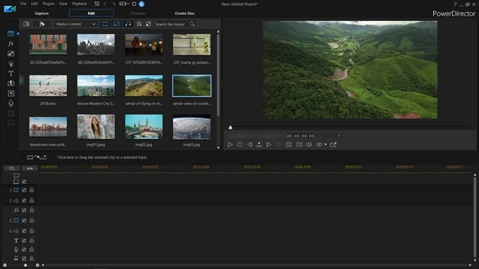 Cyberlink PowerDirector aplikasi edit video pc