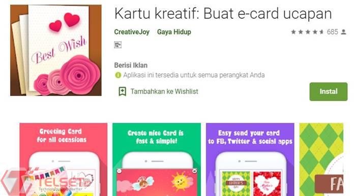 aplikasi kartu lebaran