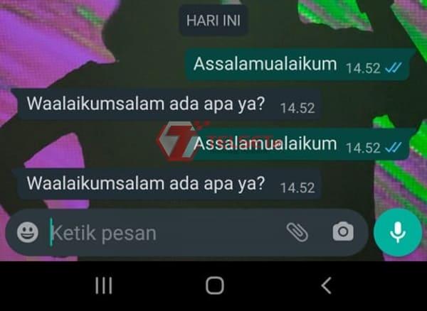 Balas Pesan WhatsApp Otomatis