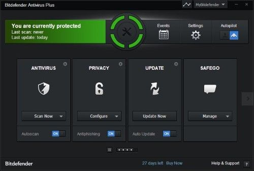 Antivirus Ringan untuk PC BitDefender AntiVirus Pro
