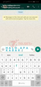 Mengganti Font di Whatsapp agar tidak keliru