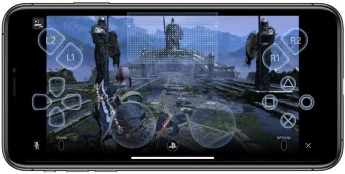 main game PS4 di iPhone pakai remote play