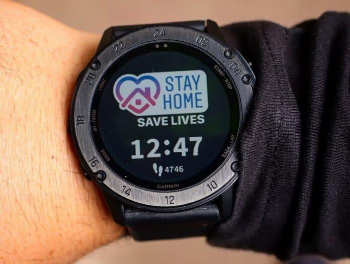 smartwatch untuk deteksi corona