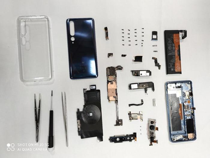 Xiaomi Tunjukkan Cara Bongkar Mi 10, Begini Isi Jeroannya!
