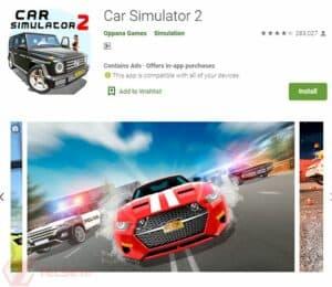 Game Simulator Mobil Terbaik - Car simulator 2