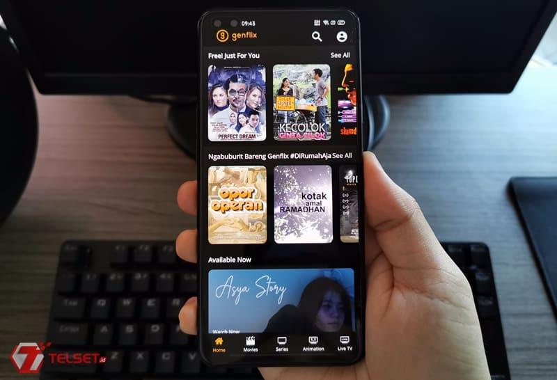 Aplikasi streaming film gratis