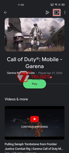 Cara Merekam Game di Android