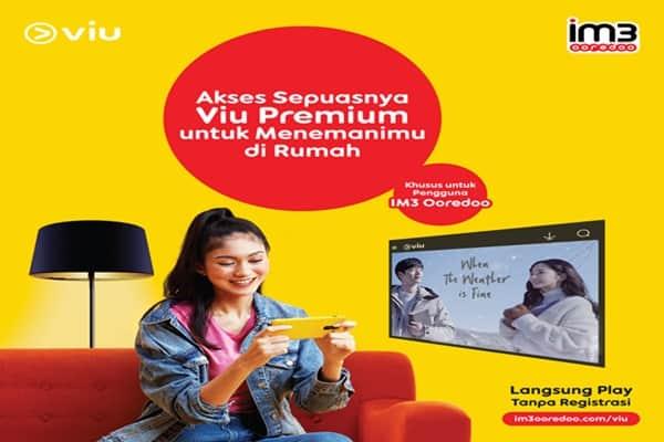 IM3 Gratis Viu Premium