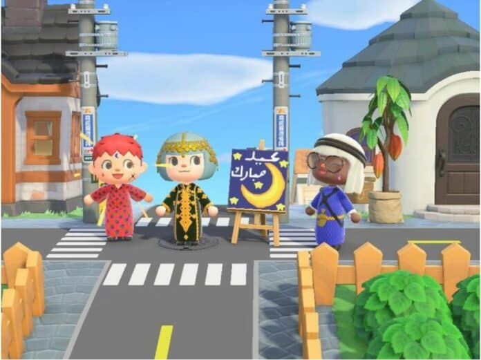 Idul Fitri Animal Crossing