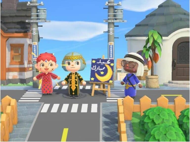 Gamer Muslim Rayakan Idul Fitri di Animal Crossing