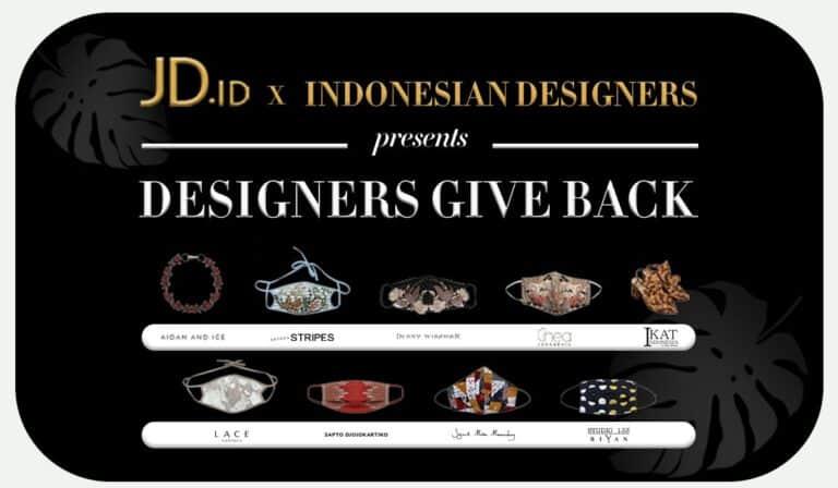 """Perangi Covid-19, JD.id Kampanyekan """"Designers Give Back"""""""