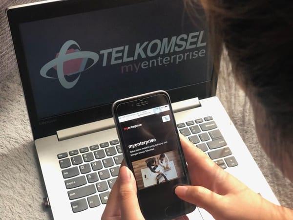 Telkomsel Myenterprise Permudah Akses Produk Korporasi