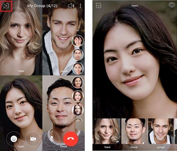 Line Group Call