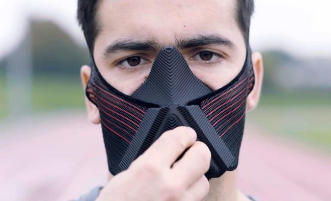 Reebok Bikin Masker Kebugaran, Begini Wujudnya