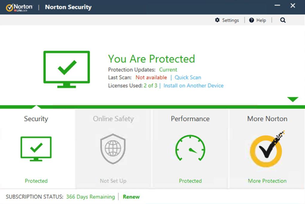 Antivirus Ringan untuk PC Norton Antivirus
