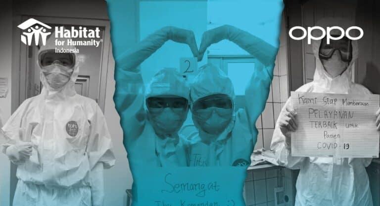 Oppo Find X2 Serahkan Donasi untuk Aksi #TempatSinggahPejuangMedis