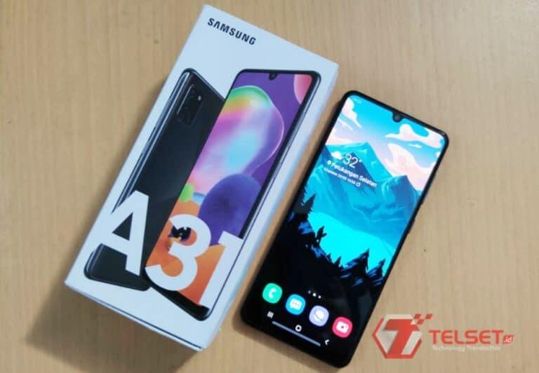 Review Samsung Galaxy A31: Bodi Ramping, Baterai Awet